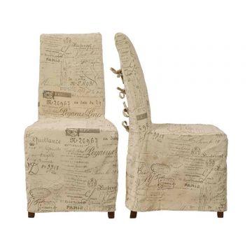 Breton Fabric Chair (Pair)