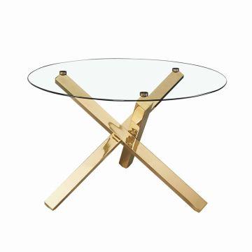 Capri Glass Dining Table