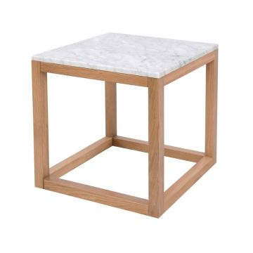 Harlow Marble End / Lamp Table