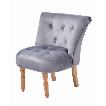 Lydia Velvet Accent Lounge Chair