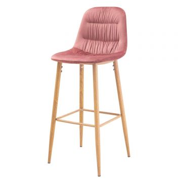 Harper Velvet Bar Stool (Pair)