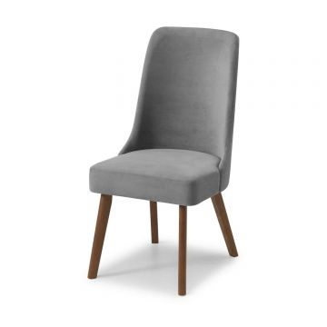 Huxley Fabric Wooden Dining Chair