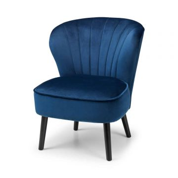 Coco Lounge Velvet Accent Chair