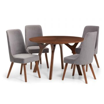 Huxley Round Table with 4 Chairs