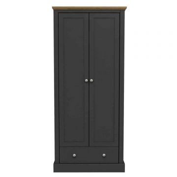 Devon 2 Door 1 Drawer Wardrobe