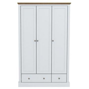 Devon 3 Door 2 Drawer Wardrobe
