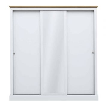 Devon 3 Door Sliding Wardrobe