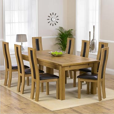 8+ seater dining sets